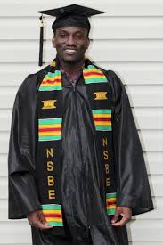 sorority graduation stoles nsbe kente stoles national society of black engineers graduation