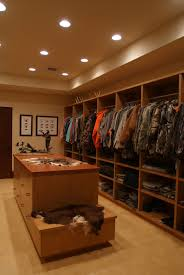 here is a room for this man of the home u0027s hunting equipment