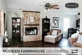 modern farmhouse living room living room progress u2013 august 2017
