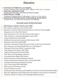 Honors And Awards In Resume Resume With Professional Awards