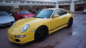 2008 porsche gt3 for sale 2008 porsche 911 s coupe 997 6 speed yellow gt3 aerokit
