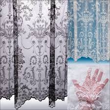 Ruffled Priscilla Curtains Living Room Awesome Buy Curtains Criss Cross Lace Curtains Cape