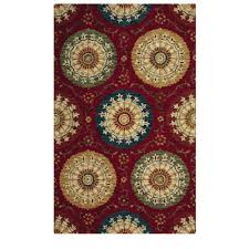 home decorators area rugs home decorators collection paradise red 6 ft x 9 ft area rug