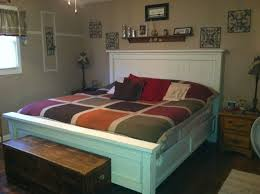 Ana White King Storage Bed by Ana White King Farm House Bed Diy Projects