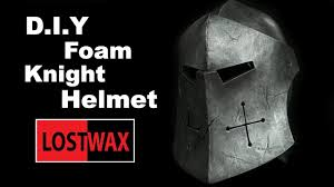 how to make a foam knight helmet for honor cosplay pattern