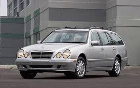 mercedes e station wagon used 2002 mercedes e class wagon pricing for sale edmunds