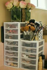 hair and makeup storage great way to organize makeup or hair accessories g beauty