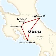 san jose costa rica on map explore costa rica in costa rica central america g adventures