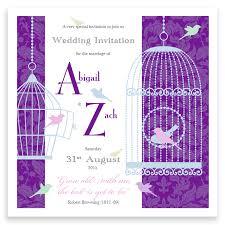 Wedding Invitations Purple Purple Wedding Invitationsinki Pinki Weddings Designer Wedding