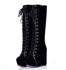 womens ugg boots wedge heel best 25 lace up wedge boots ideas on wedge boots
