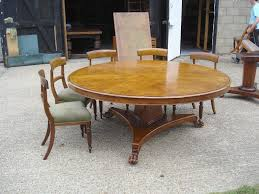 impressive awesome round dining room tables seats 10 ideas