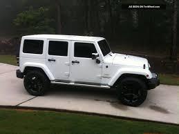 jeep wrangler white 4 door 2012 jeep wrangler sahara loaded 4 door