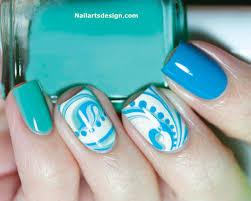 3 beautiful designs of nails art at home