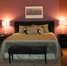 Brown Accent Wall by Decoration Ideas Stunning Beige Comforter Platform Bed And Dark