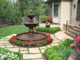 clever design water fountain designs garden garden fountain diy