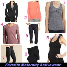 maternity activewear favorite maternity activewear running bun