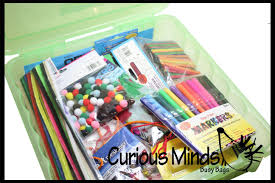 craft box with supplies creative gift for kids art box