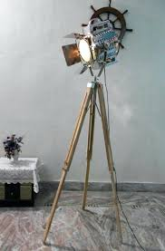 Nautical Spotlight Floor Lamp by Floor Lamp Nautical Floor Lamps Nautical Floor Lighting