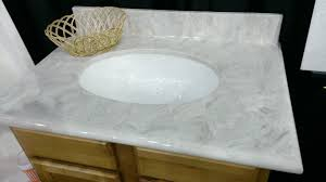 Poured Marble Vanity Tops Cultured Marble Vanity Tops A Team Kitchen And Bath