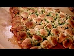 pull apart tree bread is cheesy but so darned