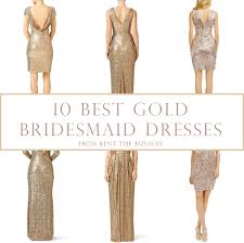 rent bridesmaid dresses 10 best gold bridesmaids dresses from rent the runway gold