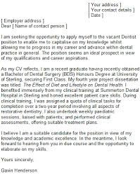 dental nurse cover letter job cover letter nurses reference