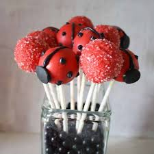 how to make ladybug cake pops cakejournal