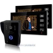 front door video camera homsecur 7 wireless video door phone doorbell intercom system with