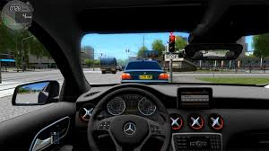 mercedes city car city car driving 1 4 mercedes a45 amg link