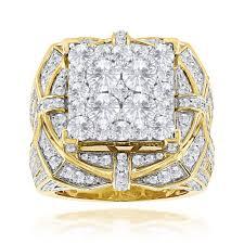 gold mens rings images Hip hop rings unique mens diamond ring 10ct 14k gold jpg