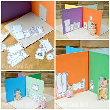 cereal box to foldable doll u0027s house diy perfect take along house
