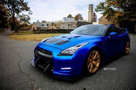 Nissan Gtr Matte Black - ams alpha nissan gt r means business