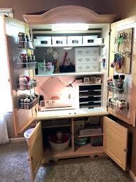 diy craft armoire with fold out table ikea craft armoire craft crafting hats off must see craft pins craft