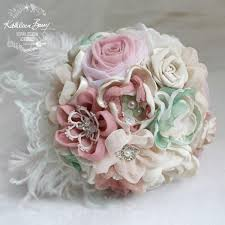 Mint Green Corsage Boutonniere Corsage Lapel Pin Groom Pink Green Colors To Order