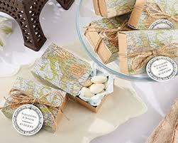 Map Favors world map favor box vintage wedding favors by kate aspen