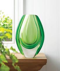 decorative glass vases art nouveau vase home cheap small glass vases decorative for