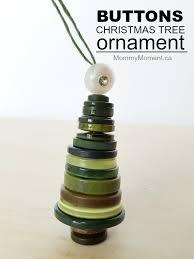 button tree ornaments moment