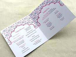 what goes on a wedding program dreaded what goes on an invitation 25 imbue you lotus wedding