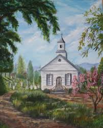 drawings of old country churches landscapes gallery art for