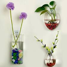 Hanging Glass Wall Vase Online Get Cheap Flowers Hanging Wall Vase Aliexpress Com