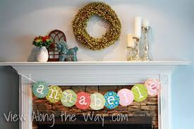 Diy Baby Shower Decor Baby Shower Decoration Ideas How To Make A Banner Out Of