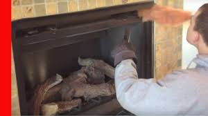 Cleaning Glass On Fireplace Doors by Cleaning A Direct Vent Fireplace Youtube