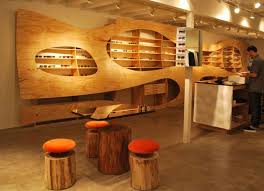 Store Interior Design Ideas Sunglasses Store Interior Design - Wooden interior design ideas