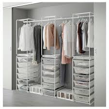 Closet Drawers Ikea by Basket And Frame Storage Algot System Ikea