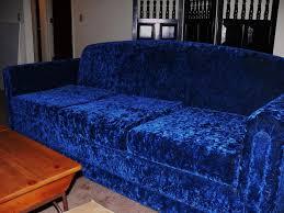 great offers uk blue velvet sofa 5482