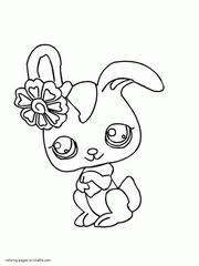 littlest pet shop lps coloring pages