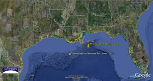 Map Of Gulf Of Mexico Bp Reports Leaking Abandoned Well In Gulf Of Mexico U2013 Skytruth