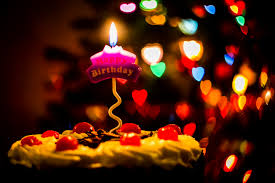 happy birthday candles happy birthday candle light a birthday cake and candle sho flickr