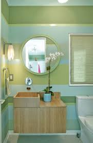 Striped Bedroom Wall by Bathroom Ideas Beautiful Bathroom Color Ideas With Green Blue
