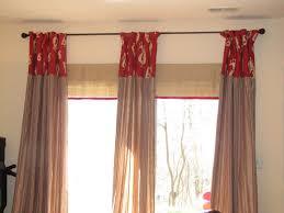 primitive patio door drapes
